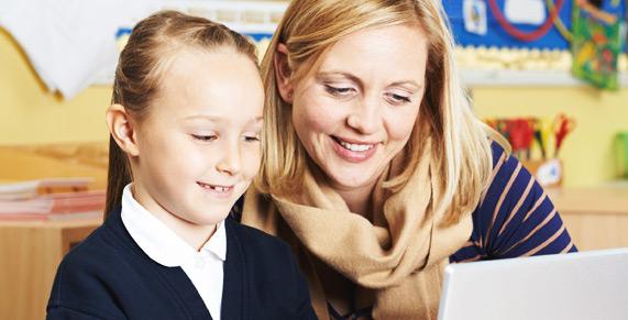 Support for school teachers using technology