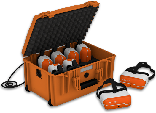 Classroom Set of VR Headsets for schools