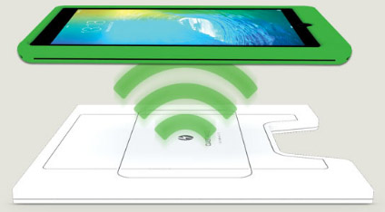 Wireless IT charging for schools