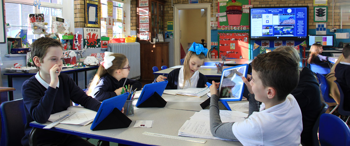 Penybont Primary school using Avantis School IT devices